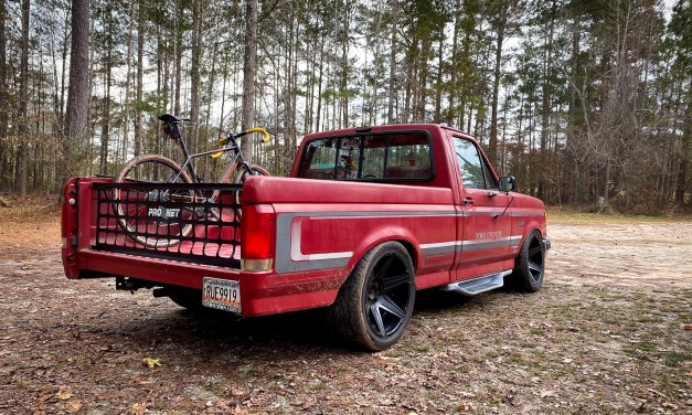 Running Boards on a Lowered OBS Bricknose F150