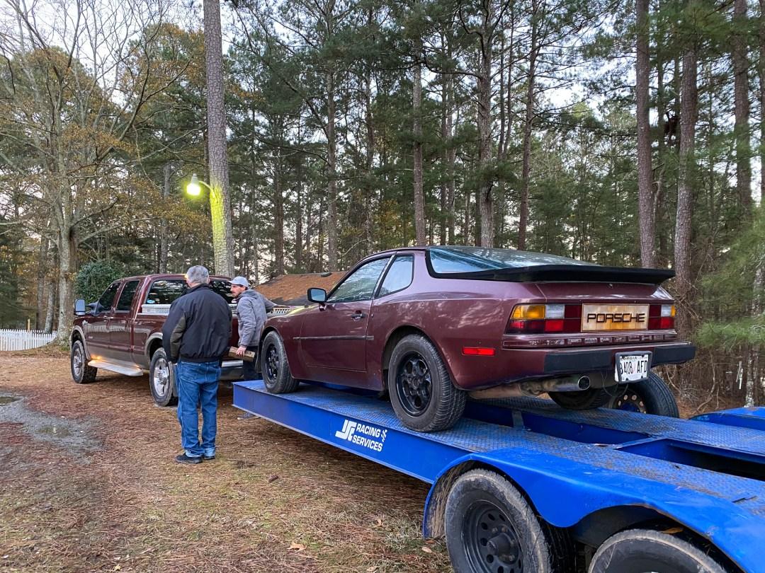 Porsche 944 not running