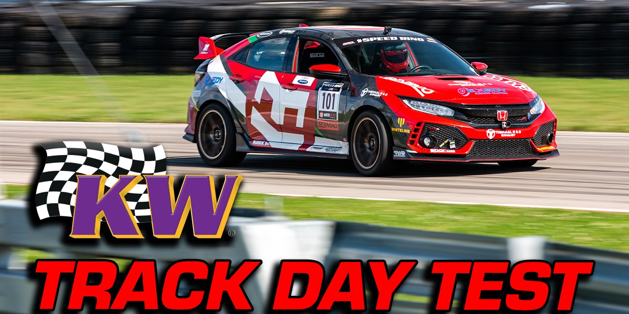 KW Suspension V3 Coilover Test | Civic Type-R