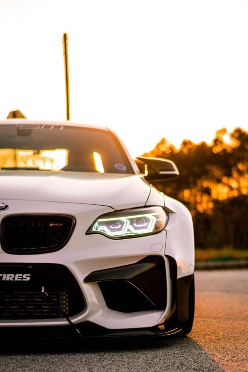 BMW 2 fender flares
