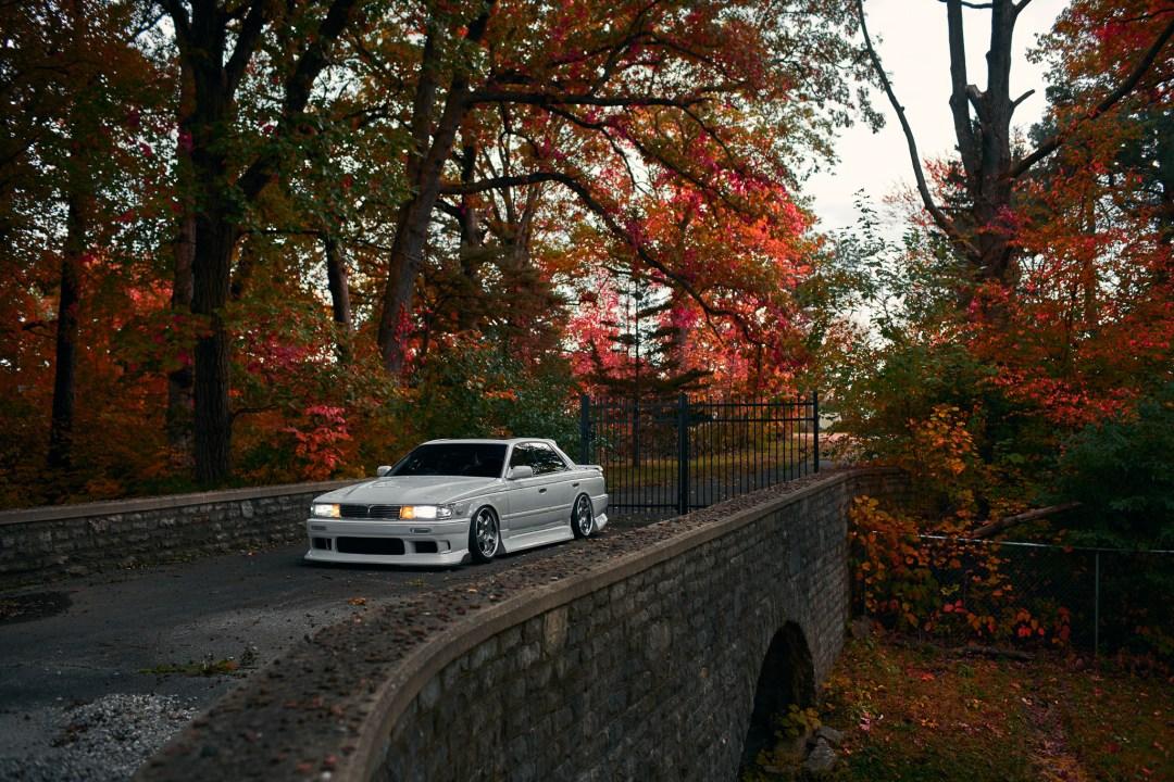 lowered Nissan Laurel