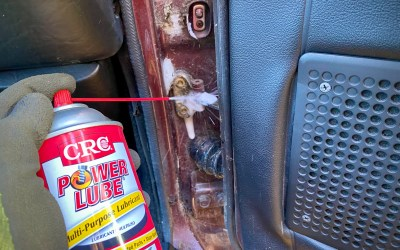 CRC Power Lube : A Project Car's best friend