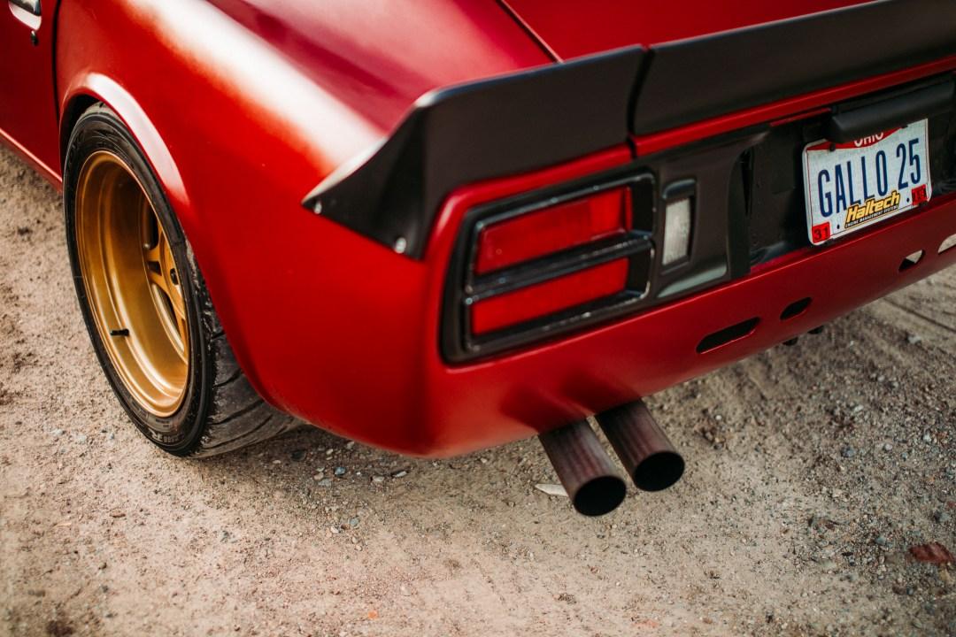 Datsun 280Z exhaust