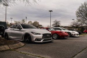lowered Infinity Q50