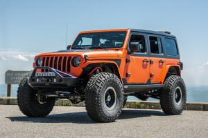 Jeep on 40s