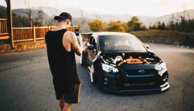 Darth Vaded: Josh Freeman's Subaru STi