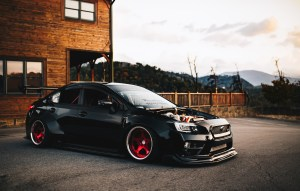 widebody STi