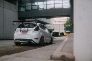 lowered Fiesta ST