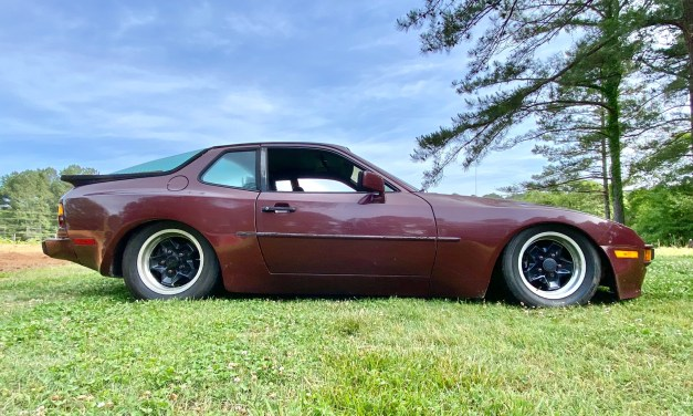 KW V3 coilovers on a 944: How low can you go