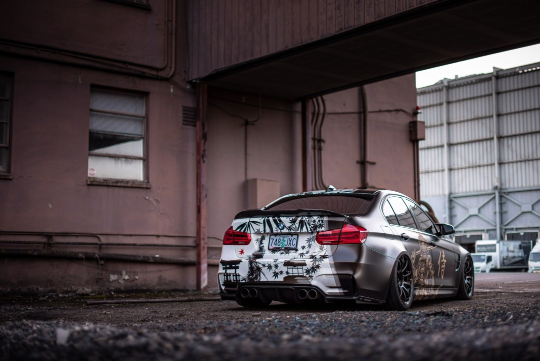 wrapped F80 M3