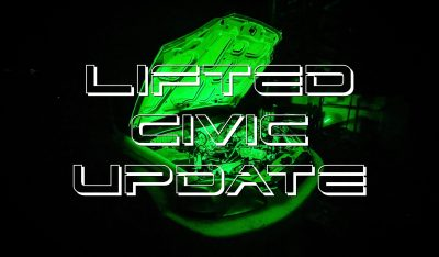 Project: Lifted Civic – Build Update #2 – Engine is OUT!