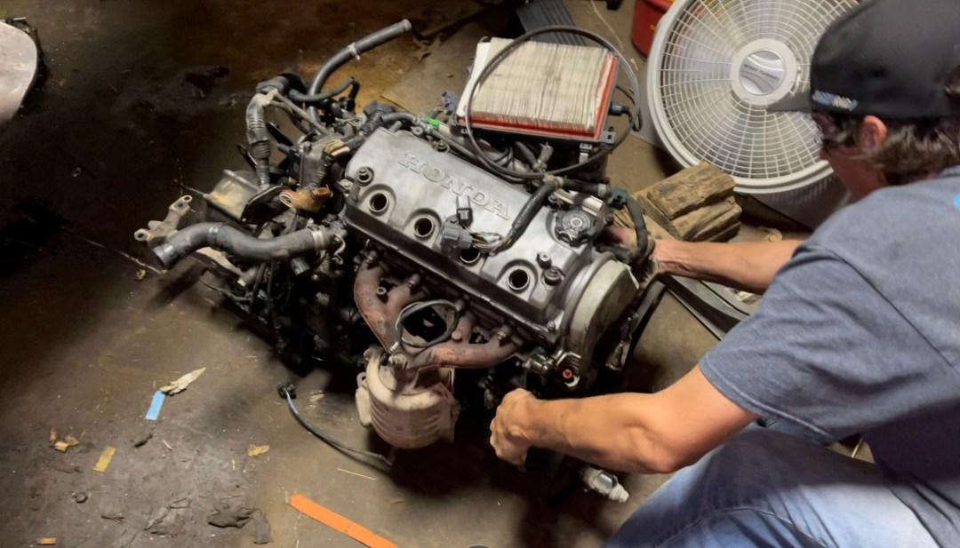 D16Y7 Engine & Trans