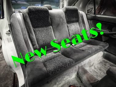 Lifted Civic Update #6: DEEP Cleaning The Interior, Engine Bay + New Seats!