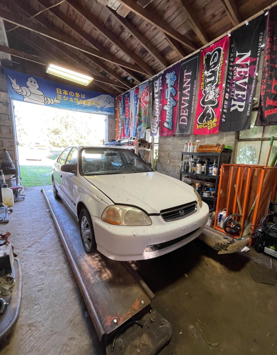 Project Lifted Civic Stock