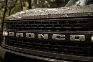 Bronco Sport Muddy Grill