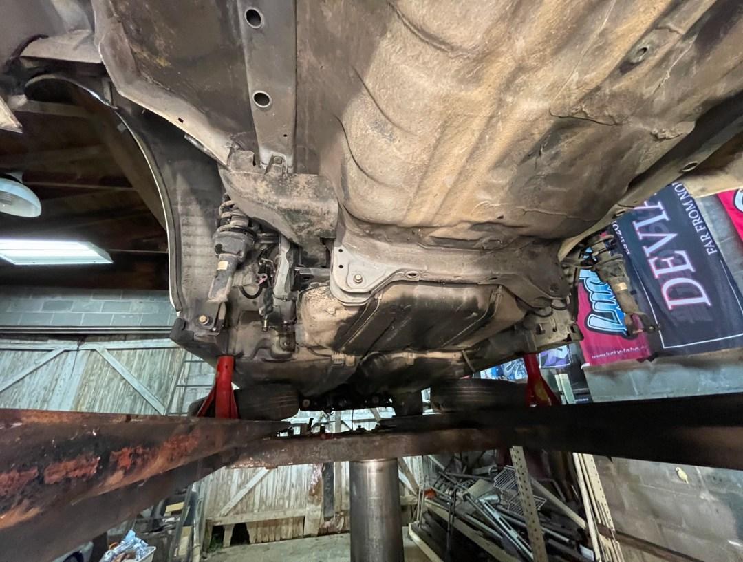 EK Civic Rear Stripped