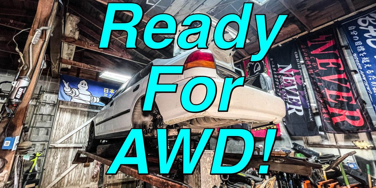 Lifted Civic Update #14: Getting Prepped For AWD!