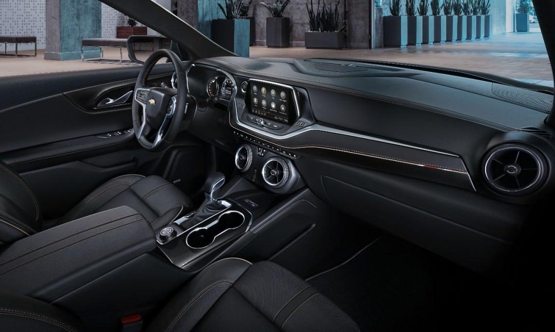 2019 Blazer interior