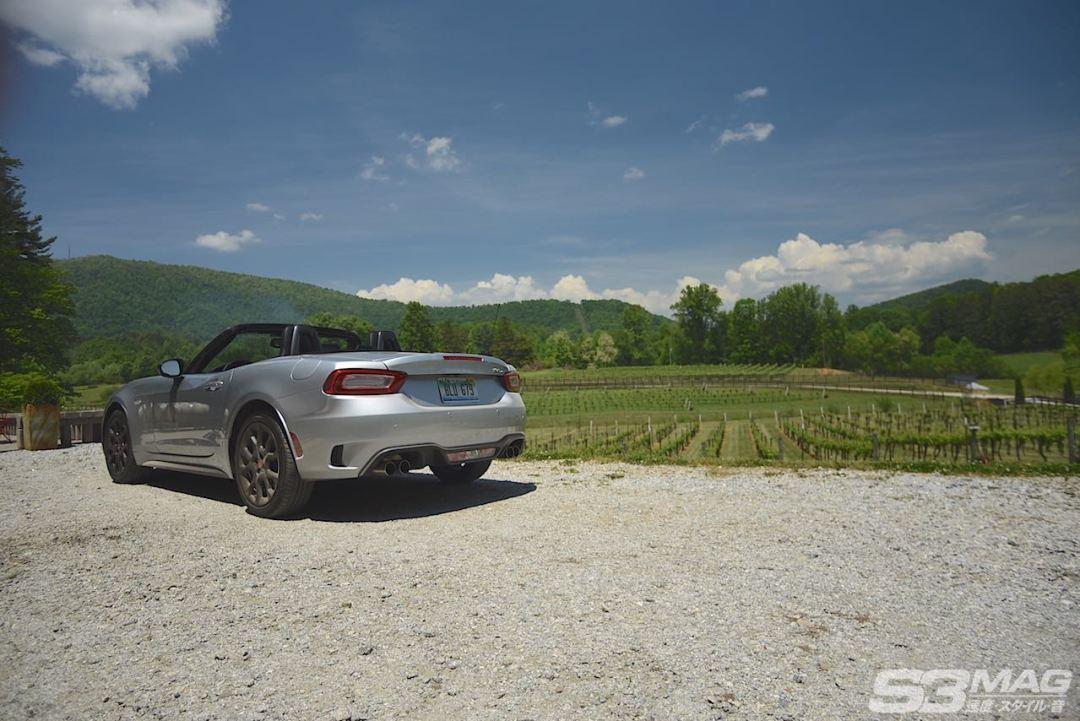Fiat 124 Abarth Chiaro silver