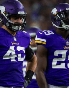 Left outside linebacker also vikings madden player ratings released for full roster rh sports