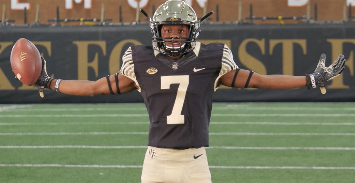 No backup slot receiver also wake forest football top fall camp position battles rh sports