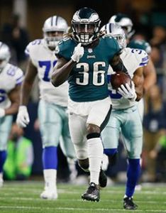 Running back also eagles projected depth chart heading into minicamp offense rh sports