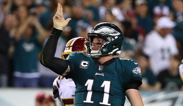 Quarterback also eagles release unofficial depth chart for week rh sports