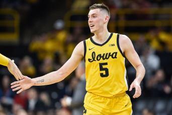 UVA showing interest in sharp-shooting Iowa transfer C.J. Fredrick