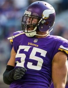 Right outside linebacker also vikings madden player ratings released for full roster rh sports