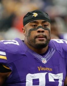 Photo tom dahlin viking update scout also madden video game predicts vikings  record rh sports