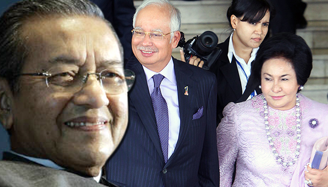 Image result for Rosmah Mansor Vs Mahathir
