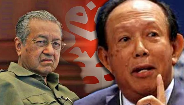 Image result for tengku razaleigh and musa hitam