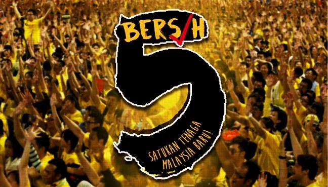 Image result for Bersih 5.O November 19, 2016