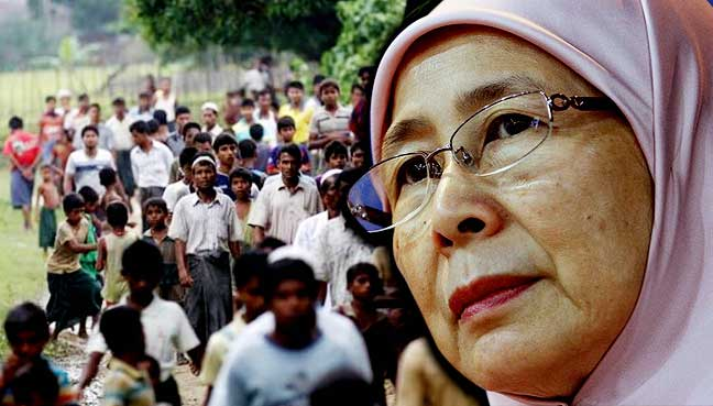 wan-azizah-rohingya