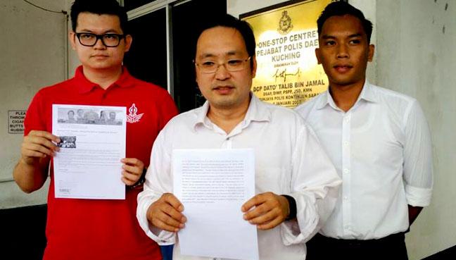 Sarawak DAP files police report on fake Adenan news | Free Malaysia Today
