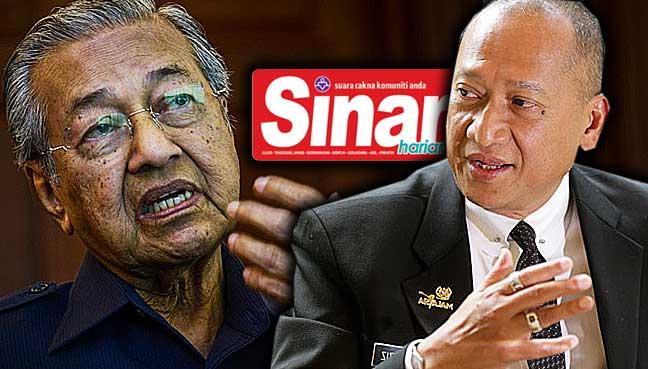 Image result for Mahathir-Nazri Debate