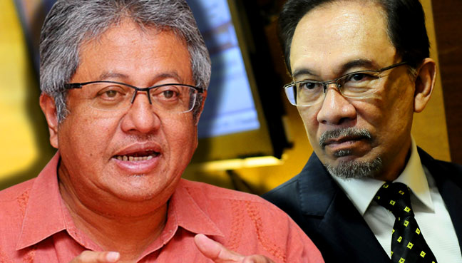 Image result for Anwar alternative prime minister and Zaid Ibrahim