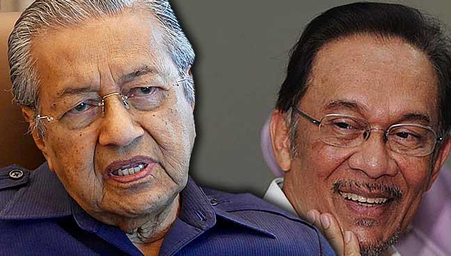 Image result for Anwar Mahathir