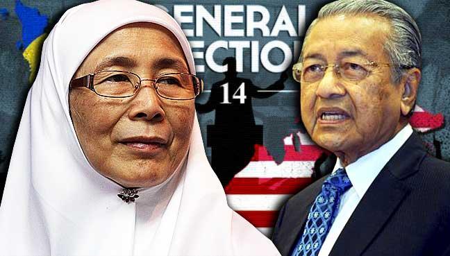 wan-azizah-mahathir-ge14-malaysia