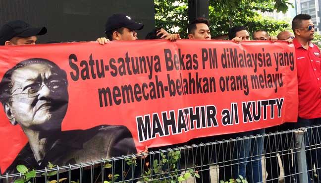 Image result for Mahathir mahu kuburkan UMNO