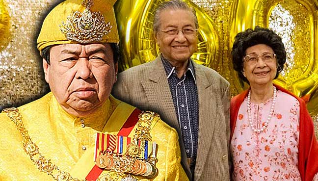 Image result for dr. mahathir mohamad and Sultan of Selangor