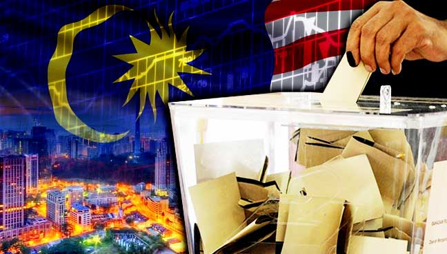 Image result for Malaysia's GE-14