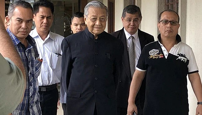 Image result for Mahathir promotes ProTiga
