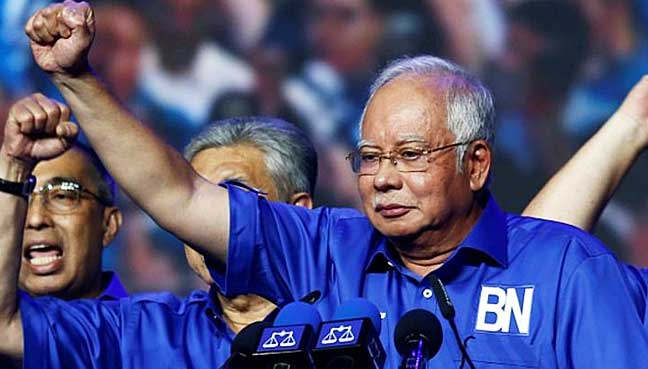 Image result for If Najib wins GE-14