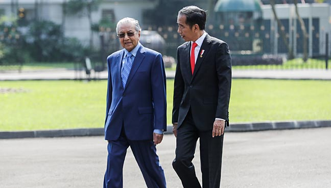 Image result for Dr Mahathir visits Indonesia