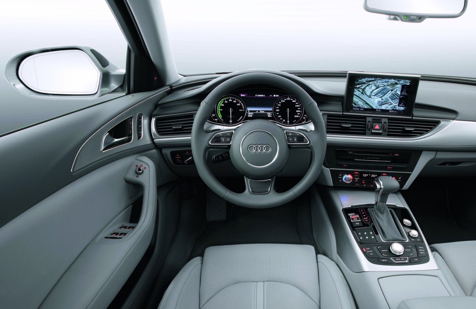 hight resolution of the audi a6 hybrid has three batteries the standard battery in the engine bay then another small battery stores energy for the ac dc converter