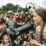 Teen Climate Activist Greta Thunberg Protests At White