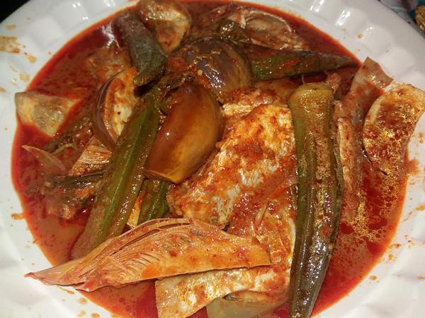 Where to eat in Melaka? Asam Pedas Selera Kampung