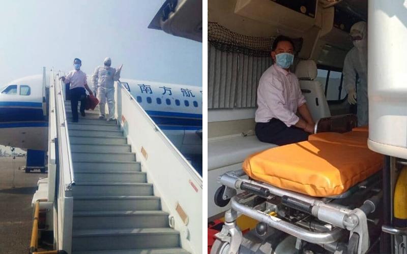 Myanmar turns back Guangzhou flight over coronavirus fears | Free ...