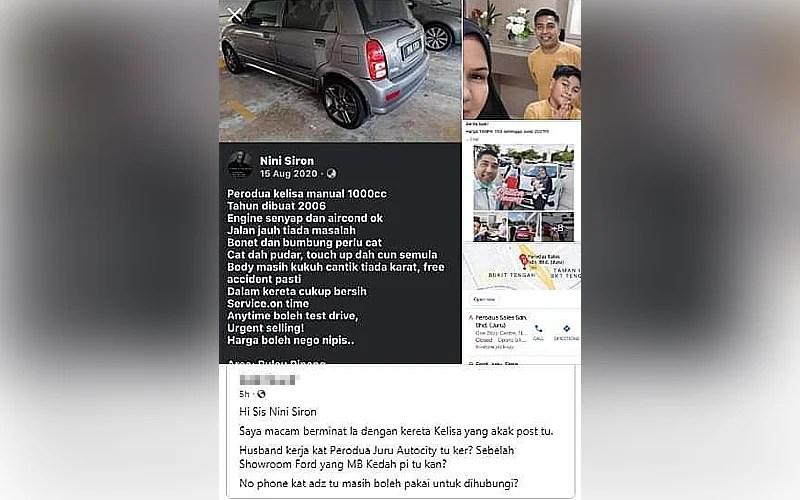 Walau dikecam warganet, wanita pertahan dakwaan MB Kedah sertai pandu uji kereta